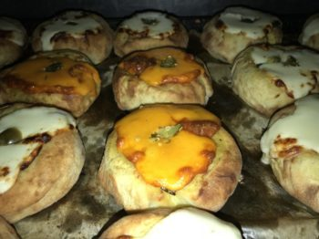 Jalapeno and Cheddar Cheese Knish