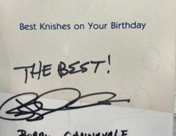 autograph Bobby Cannavale