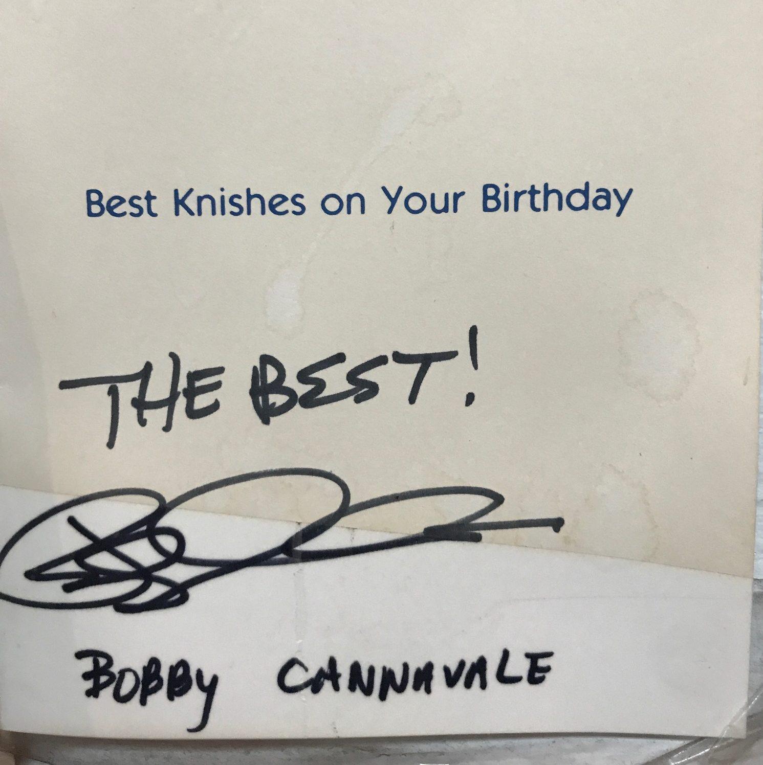 Bobby Cannavale Autograph